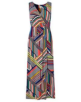 Monsoon Siani Print Maxi Dress