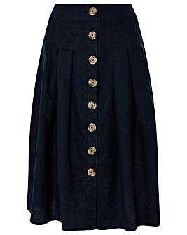 Monsoon Tilly Fixed Pleat Skirt