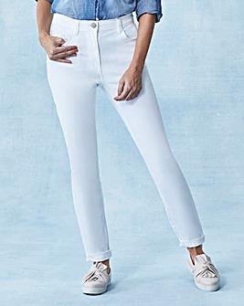 Slim Leg Jeans Short Length