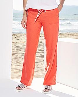 Fashion Linen Trousers Regular