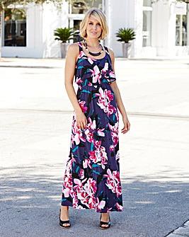 Nightingales Jersey Maxi Dress