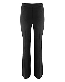 Bootcut Stretch Trousers - Short