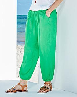 Crinkle Harem Trousers