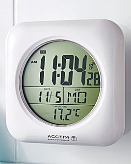Radio Controlled Suction Clock