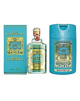 4711 90ml Spray with Shower Gel Gift Set