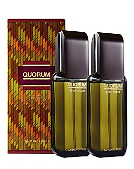 Quorum Aftershave 100ml Pack of 2