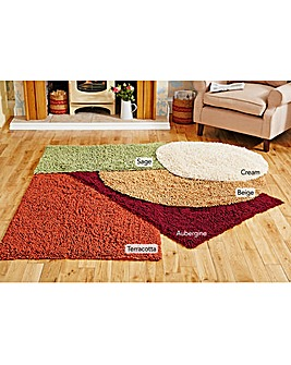 Chenille Noodle Rug