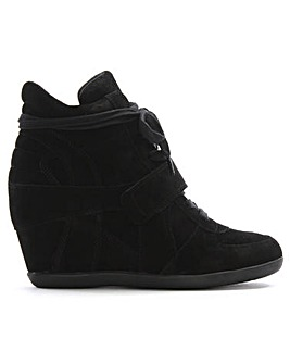 Ash Bowie II Suede Wedge High Top