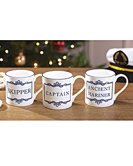Mariners Mug Skipper