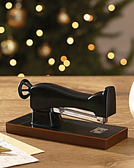 Singer Sewing Machine Shaped Stapler