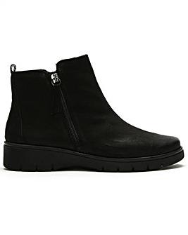 Daniel Rainford Double Zip Ankle Boots