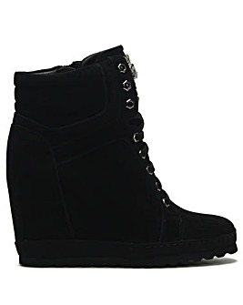 e9d372369ff7 Daniel Vasto Sporty Wedge Ankle Boots