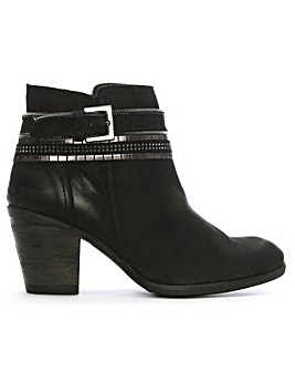 DF by Daniel Loki Chain Ankle Boots