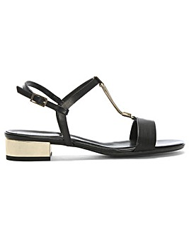 Daniel Loella Leather Strappy Sandals