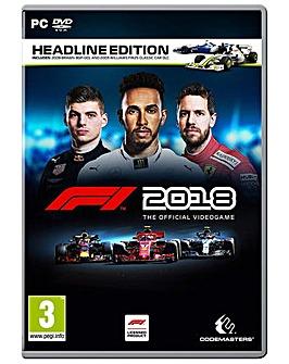 F1 2018 Headline Edition Formula 1 PC