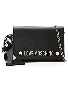 Love Moschino Logo Clutch Bag