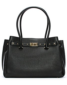 Michael Kors Large Studded Leather Tote