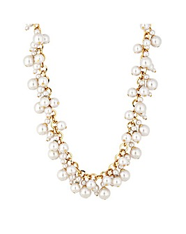 Mood Pearl Cluster Charm Necklace
