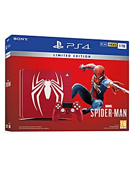 PS4 1TB Ltd Edition Spider-Man Bundle