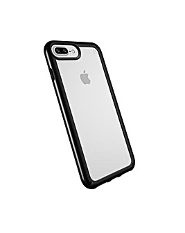iPhone 6/6S/7/8 Plus Clear + Black