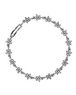Jon Richard Crystal Star Link Bracelet