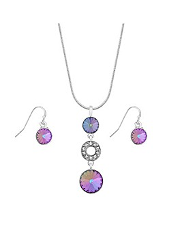 Jon Richard Swarovski Jewellery Set