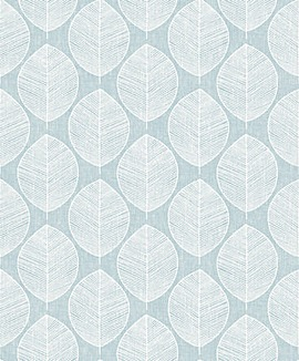 Arthouse Scandi Leaf Wallpaper