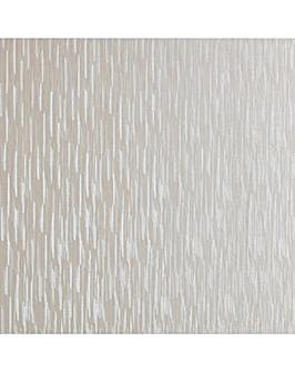 Sfcol Silken Stria White Shimmer