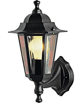 HOME Outdoor Wall Lantern - Black