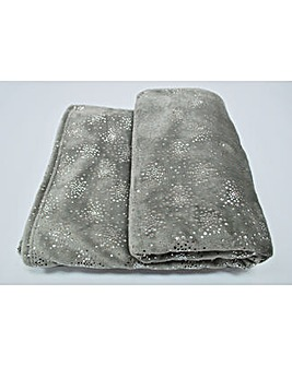 cascade home glitzy throw