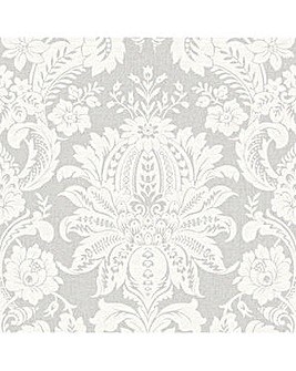 SFE Venetian Damask Wallpaper Grey