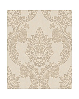 Contour Regent Neutral Wallpaper