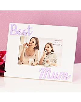 Best Mum Photo Frame