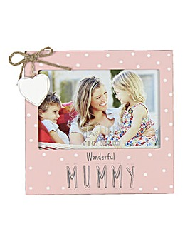 Wonderful Mummy Wooden Photo Frame
