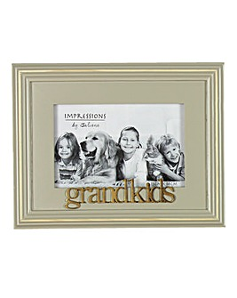 Wooden Grandkids Photo Frame