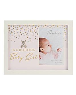 Bambino Gorgeous Baby Girl Frame