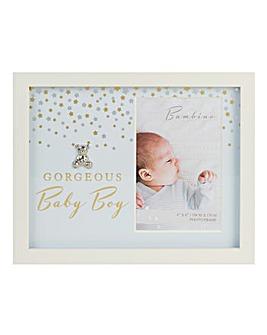 Bambino Gorgeous Baby Boy Frame