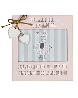 Petit Cheri Little Girls Photo Frame