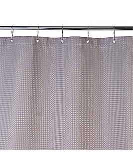 Shower Curtain - Grey Waffle