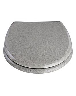 Glitter Toilet Seat - Grey