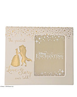 Enchanting Disney Belle Photo Frame