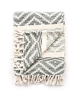 cascade home navajo hand woven throw