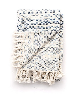 cascade home ombre diamond throw