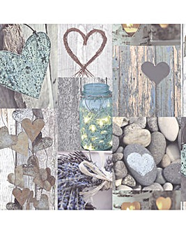 Arthouse Rustic Heart Natural
