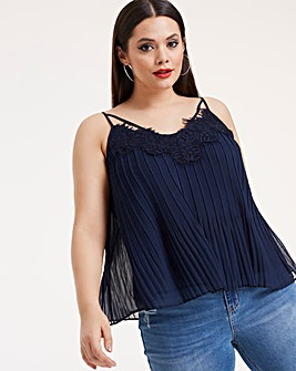 Joanna Hope Pleat Detail Luxe Cami