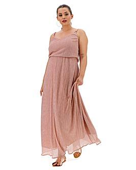 Joanna Hope Glitter Knit Maxi Dress