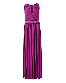 Joanna Hope Jewel Maxi Dress