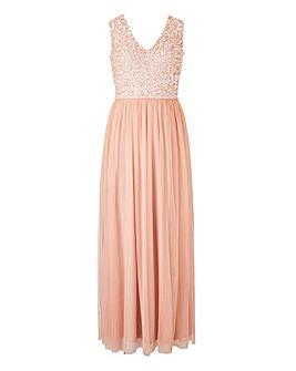 Joanna Hope Beaded Bodice Dress