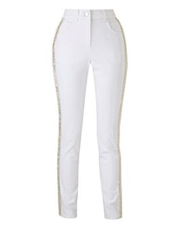 Joanna Hope Embellished Jeans