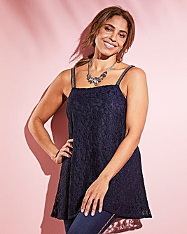Joanna Hope Lace Swing Cami